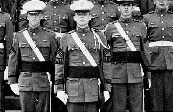 donald trump in military school